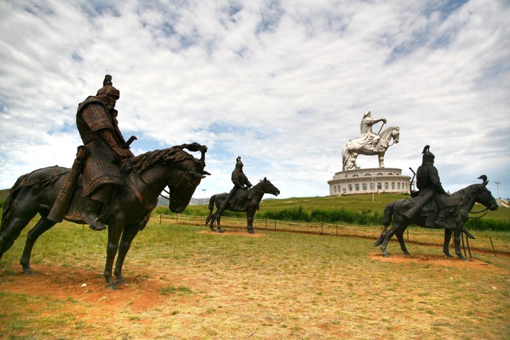 Die Geschichte der Mongolei chronisch aufgelistet