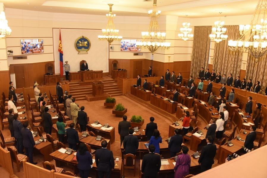 Das politische System in der Mongolei
