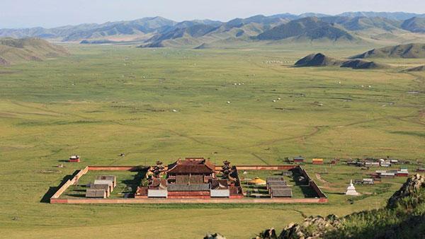 Die 10 Hauptklöster der Mongolei