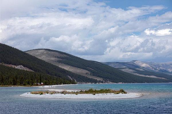 Die schönsten Seen in der Mongolei